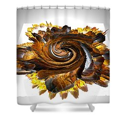 Simulated Beats 30 Shower Curtain