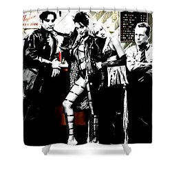 Sin City Starring Shower Curtain