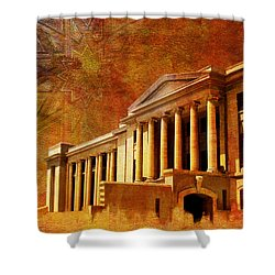 Sindh High Court Shower Curtain by Catf