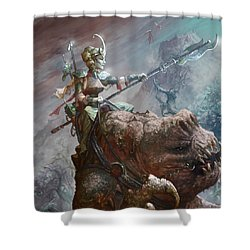 Singing Mountain Sister Shower Curtain