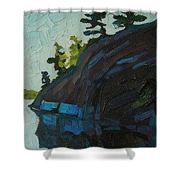Singleton South Shore Shower Curtain by Phil Chadwick