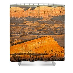 Sinking Ship Sunset Point Bryce Canyon National Park Shower Curtain