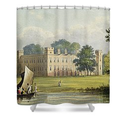 Sion House, From R. Ackermanns Shower Curtain by John Gendall