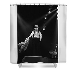 Sir Elton John Shower Curtain by Dragan Kudjerski