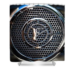 Siren Fire Engine Number Three Shower Curtain by Bob Orsillo