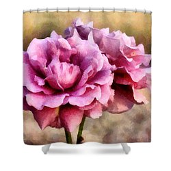 Sisters Before The Storm Shower Curtain by RC deWinter