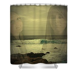 Shower Curtain featuring the photograph Sisters Forever by Joyce Dickens