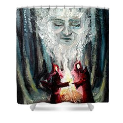 Sisters Of The Night Shower Curtain by Shana Rowe Jackson