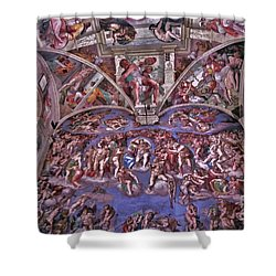 Shower Curtain featuring the photograph Sistine Chapel by Allen Beatty