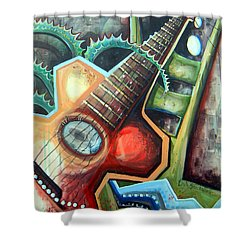 Sit Down Play Shower Curtain