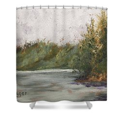Sitka Mist Shower Curtain