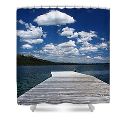 Sit'n Wasting Time Away Shower Curtain by Patrick Witz