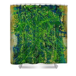 Six Degrees Shower Curtain by Jean Cormier