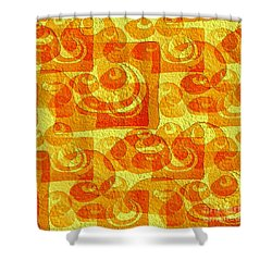 Sixties Memory Shower Curtain