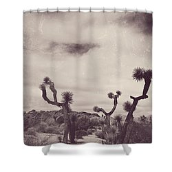 Skies May Fall Shower Curtain