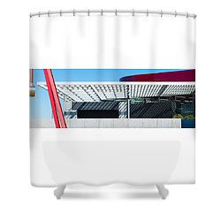 Skokos Pavilion Dallas Tx Shower Curtain