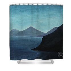 Skopelos Greece Shower Curtain