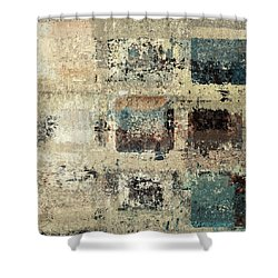 Skouarioz - S3cf2t Shower Curtain by Variance Collections