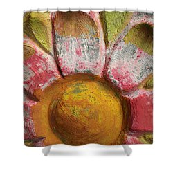 Skc 0008 Scraped Paint Shower Curtain