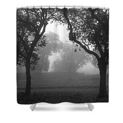 Skc 0063 Atmospheric Bliss Shower Curtain by Sunil Kapadia