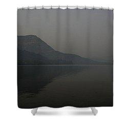 Skc 0086 Solitary Isolation Shower Curtain by Sunil Kapadia