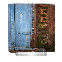 Skc 0302 A Village House Shower Curtain