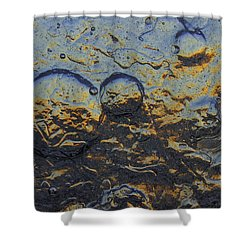 Sky Circles Shower Curtain