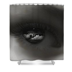 Sky Eye Shower Curtain