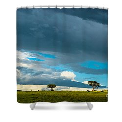 Sky Is The Limit Shower Curtain by Syed Aqueel
