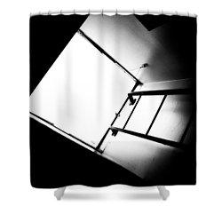 Sky Light Shower Curtain by Bob Orsillo
