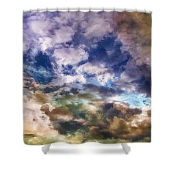 Sky Moods - Sea Of Dreams Shower Curtain