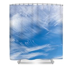 Sky Painting II Shower Curtain