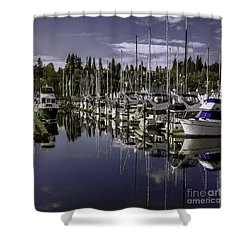 Sky Reach Shower Curtain