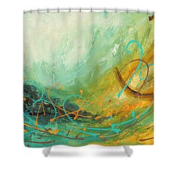 Sky Sailing Shower Curtain