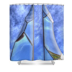 Skycicle Shower Curtain