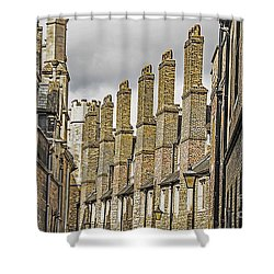 Skyline Of Cambridge Shower Curtain