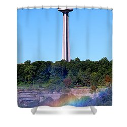 Skylon Tower Niagara Falls Shower Curtain