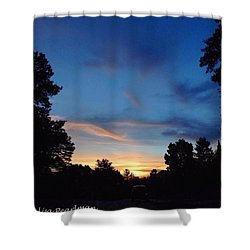 #skyporn #insta_pick_skyart Shower Curtain