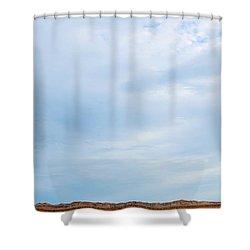 Skyward Shower Curtain