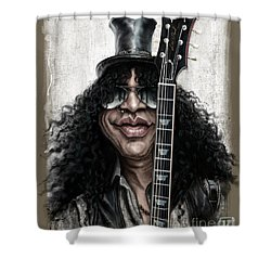 Slash Shower Curtain