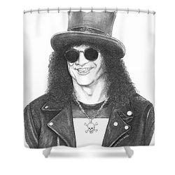 Slash Shower Curtain by Murphy Elliott