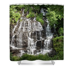 Slatebrook Falls Shower Curtain
