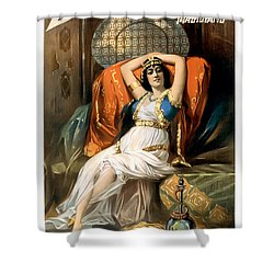 Slave Of The Orient Shower Curtain by Terry Reynoldson