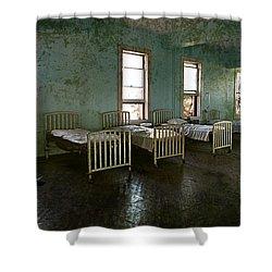 Sleep It Off Shower Curtain
