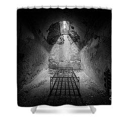 Sleep Tight Shower Curtain by Michael Ver Sprill