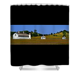 Sleeping Bear Barns Shower Curtain