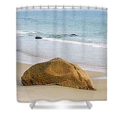 Sleeping Giant  Shower Curtain by Kathy Barney