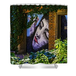 Sleeping Lady No Watermark Shower Curtain