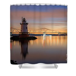Sleepy Hollow Light Reflections  Shower Curtain