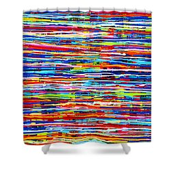 Slippery Snakes Shower Curtain